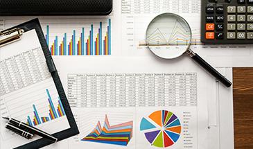 Principais indicadores de investimento
