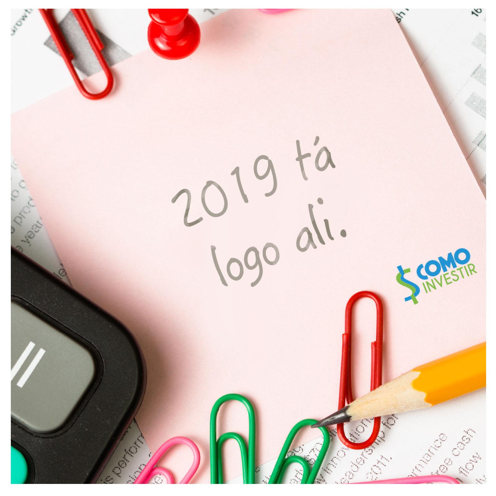 Está na hora de planejar seu ano novo