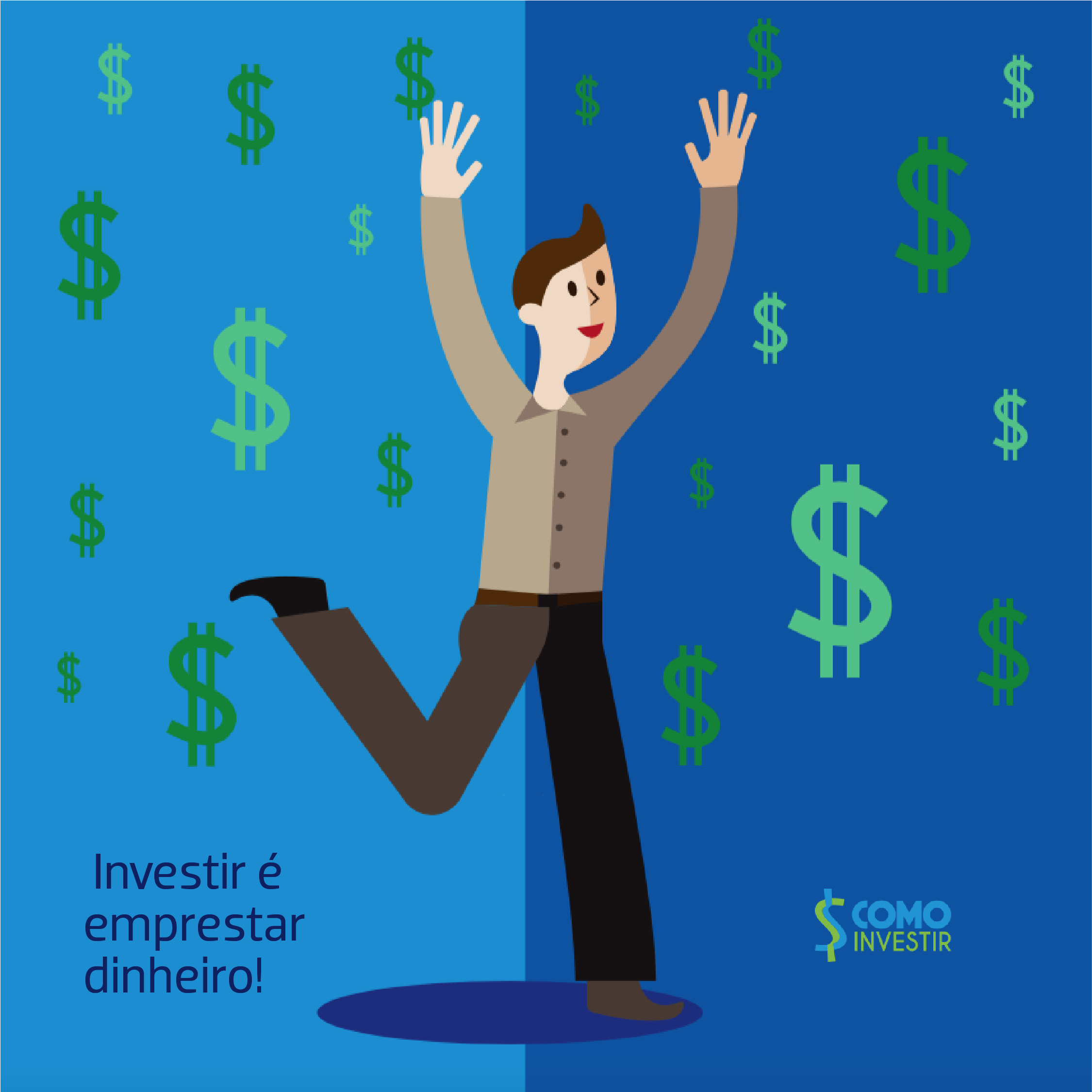Quem investe empresta dinheiro – mas como?